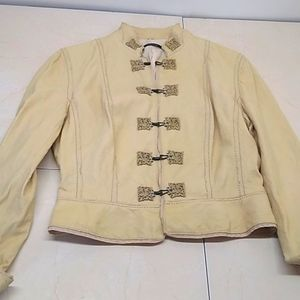 Elie Tahari Soft Washable Leather Jacket